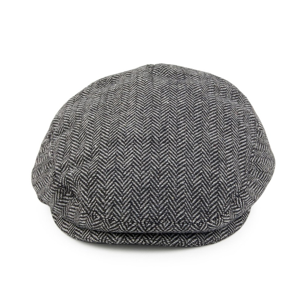 Grey Jaxon /& James Baby Herringbone Flat Cap