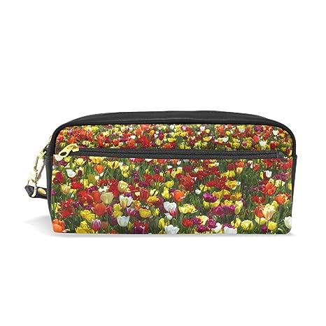 Ahomy Tulip Garden - Estuche para lápices de colores para ...
