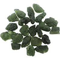 Healing Crystals India: One (1) Fine Moldavite Tektite From Czech Republic - 5 Carats