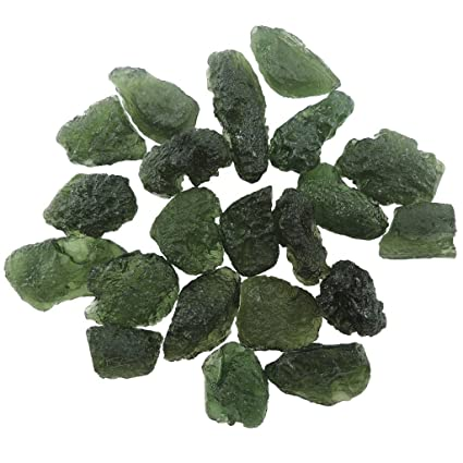 Healing Crystals India Genuine Moldavite Tektite Meteorites Crystals  Healing Stones Suitable For Ring Pendant Reiki Crystal Jewelry Necklace  Bracelet