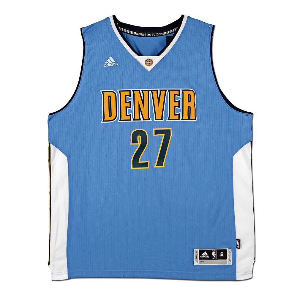 64fc0e97f6cd JAMAL MURRAY DENVER NUGGETS LIGHT BLUE SWINGMAN JERSEY at Amazon s Sports  Collectibles Store