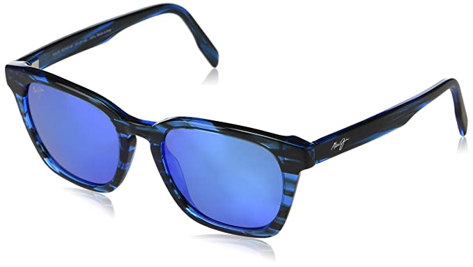 17856ce8363 Maui Jim Shave Ice B533-86 | Polarized Electric Blue Classic Frame  Sunglasses, 54