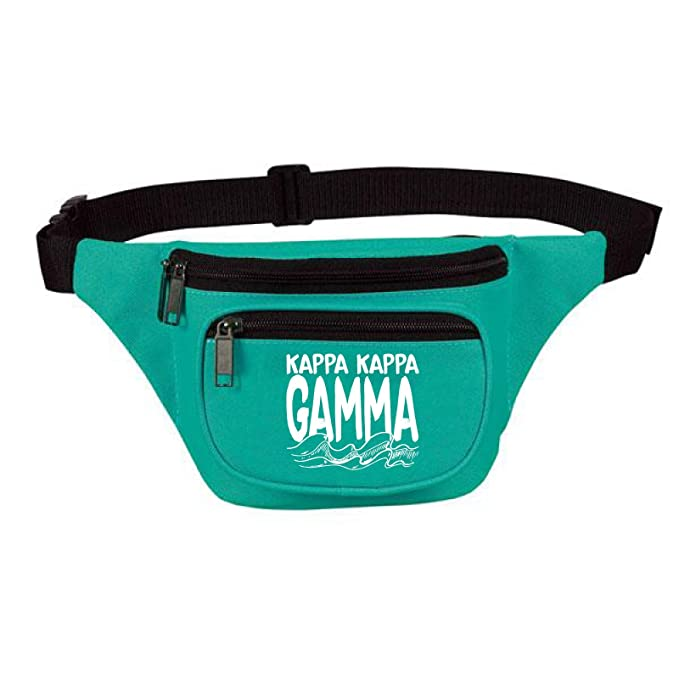 70da32a3619 Image Unavailable. Image not available for. Color: Kappa Three Zipper Fanny  Pack