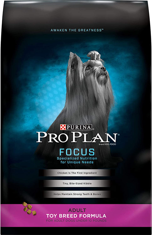 6. Purina Pro Plan Small & Toy Breed Formula