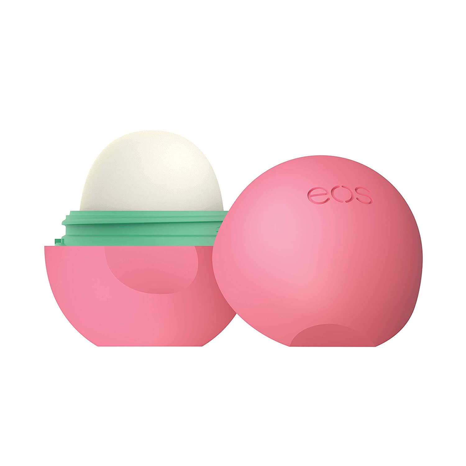 Eos Natural Organic Sphere Lip Balm Strawberry Sorbet Certified Organic 100 Natural Deeply Hydrates And Seals In Moisture 0 25 Oz