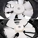2003 2004 2005 2006 2007 Honda Accord 2.4L Radiator Cooling Fan Assembly Dual Condenser Cooling Fan Assembly