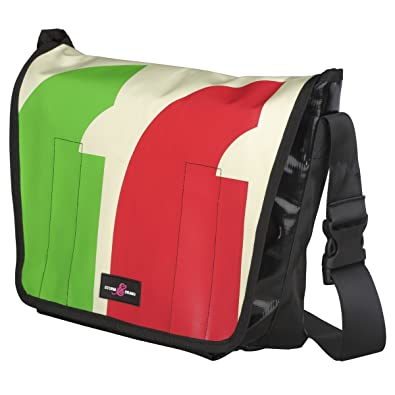 ceb8a0ce154 Sturm   Drang Messenger Courier Bag made of Truck Tarpaulin cross body  large School  Amazon.co.uk  Shoes   Bags