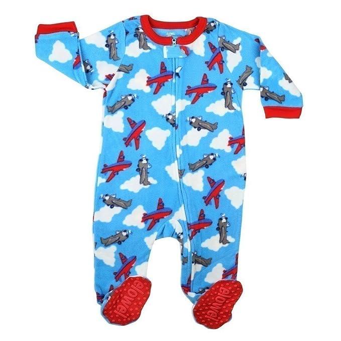 Elowel Pijama para bebe nino, (talla 6 m-5 anos), polar: Amazon.es: Ropa y accesorios