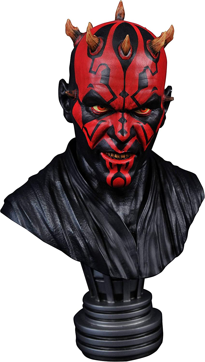 The Phantom Menace Darth Maul Legends in 3-Dimensions 1:2 Scale Bust DIAMOND SELECT TOYS Star Wars