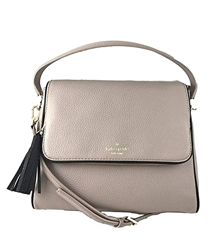 7da2b1ceb5f1e4 Kate Spade Chester Street Miri Pebbled Leather Crossbody Bag Shoulder Purse  Handbag in Almond Black