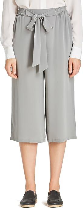 LilySilk Pantalones Mujer con Lazo 100% Seda Natural 18MM ...