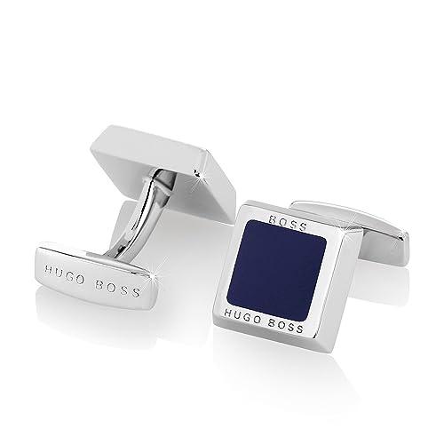 bieten eine große Auswahl an besserer Preis für super beliebt Boss 50239922-410 Franzisko Manschettenknöpfe Blau