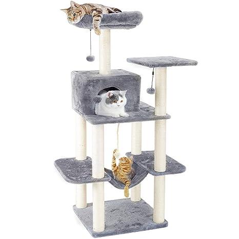 Amazon.com: PAWZ Road - Torres de árbol de gato de 60 ...
