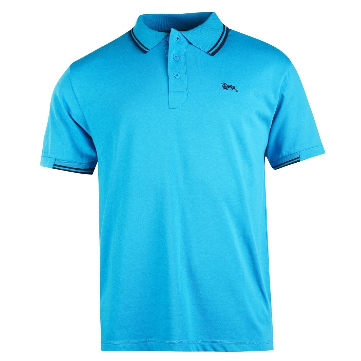 Lonsdale - Polo - para Hombre Bleu Clair/Bleu Marine Small: Amazon ...