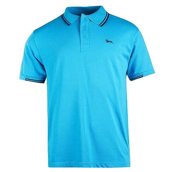 Lonsdale - Polo - para Hombre Bleu Clair/Bleu Marine Small: Amazon ...