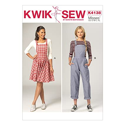 Amazon Kwik Sew Patterns K4138 Misses Jumper Jumpsuit All
