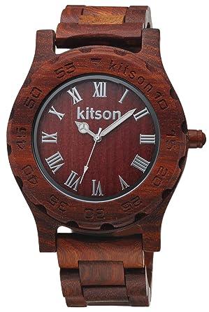 d6dc3b635d Amazon   [キットソン]kitson 腕時計 KW0246 メンズ   kitson(キットソン ...