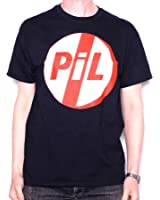 Public Image Limited T Shirt - PiL Red & White Classic Logo 100% Official