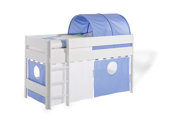 Geuther - Vorhang-Set 2-teilig für Längsseite, mehrfarbig 1391 353 BL/WE