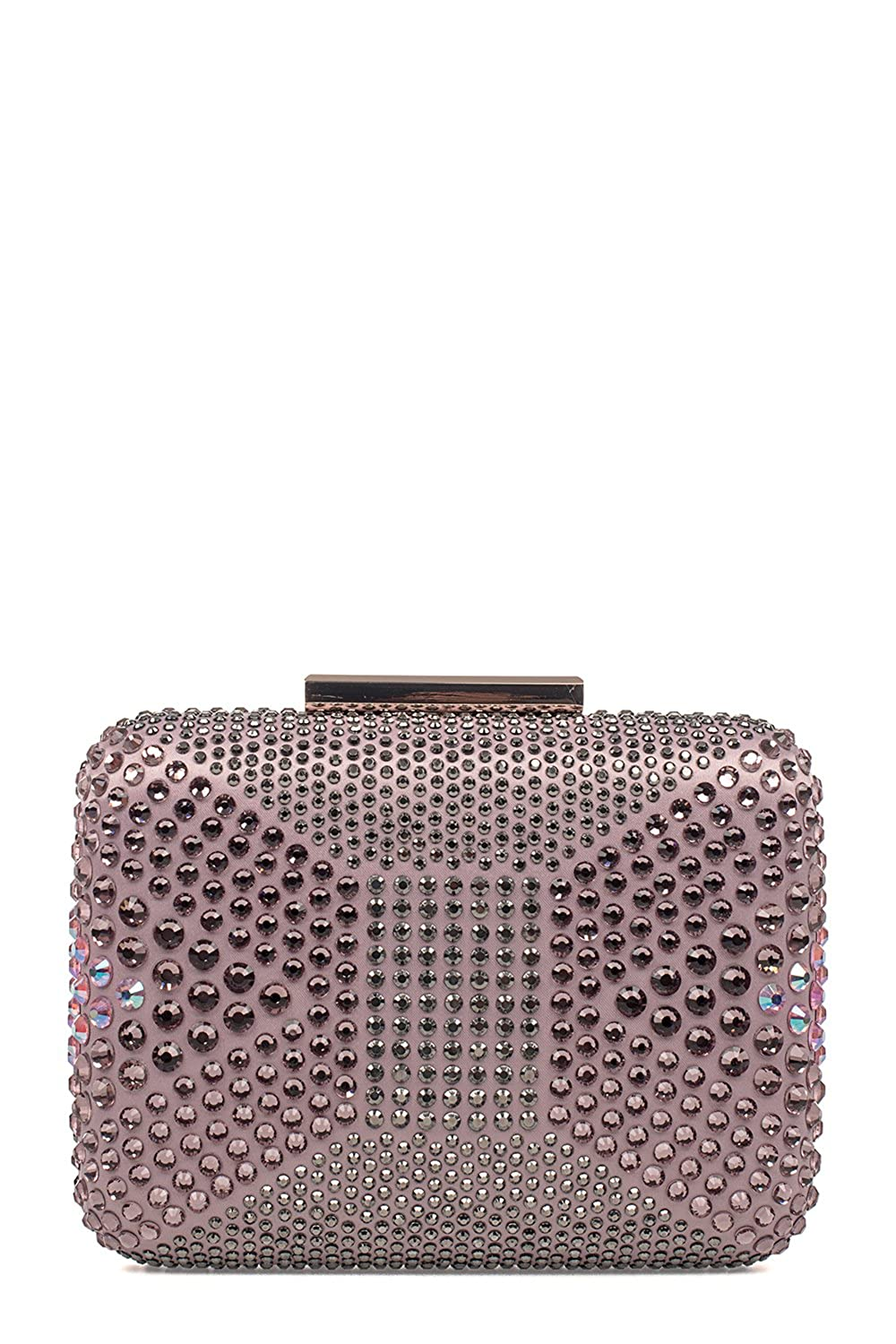 PINKO WOMEN'S 1P20RUY2SSY22 PINK POLYESTER CLUTCH