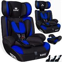 Kidiz Autokindersitz Kinderautositz Sportsline Gruppe 1+2+3 | 9-36 kg Autositz Kindersitz | Stabil und Sicher |