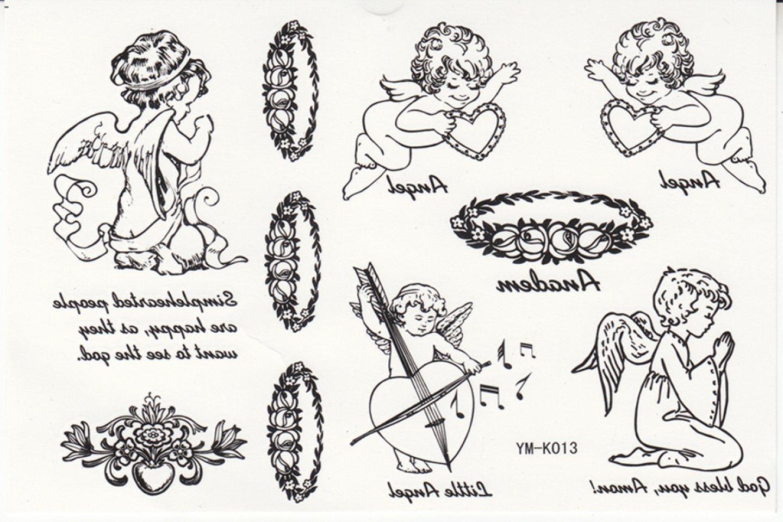 Moda Tatuajes Temporales impermeables mujeres modelos blanco y ...