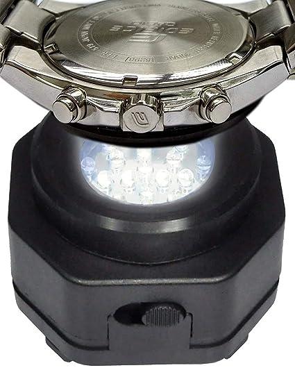 Cargador de reloj de energía solar. Coolfire. Cargador profesional para reloj solar