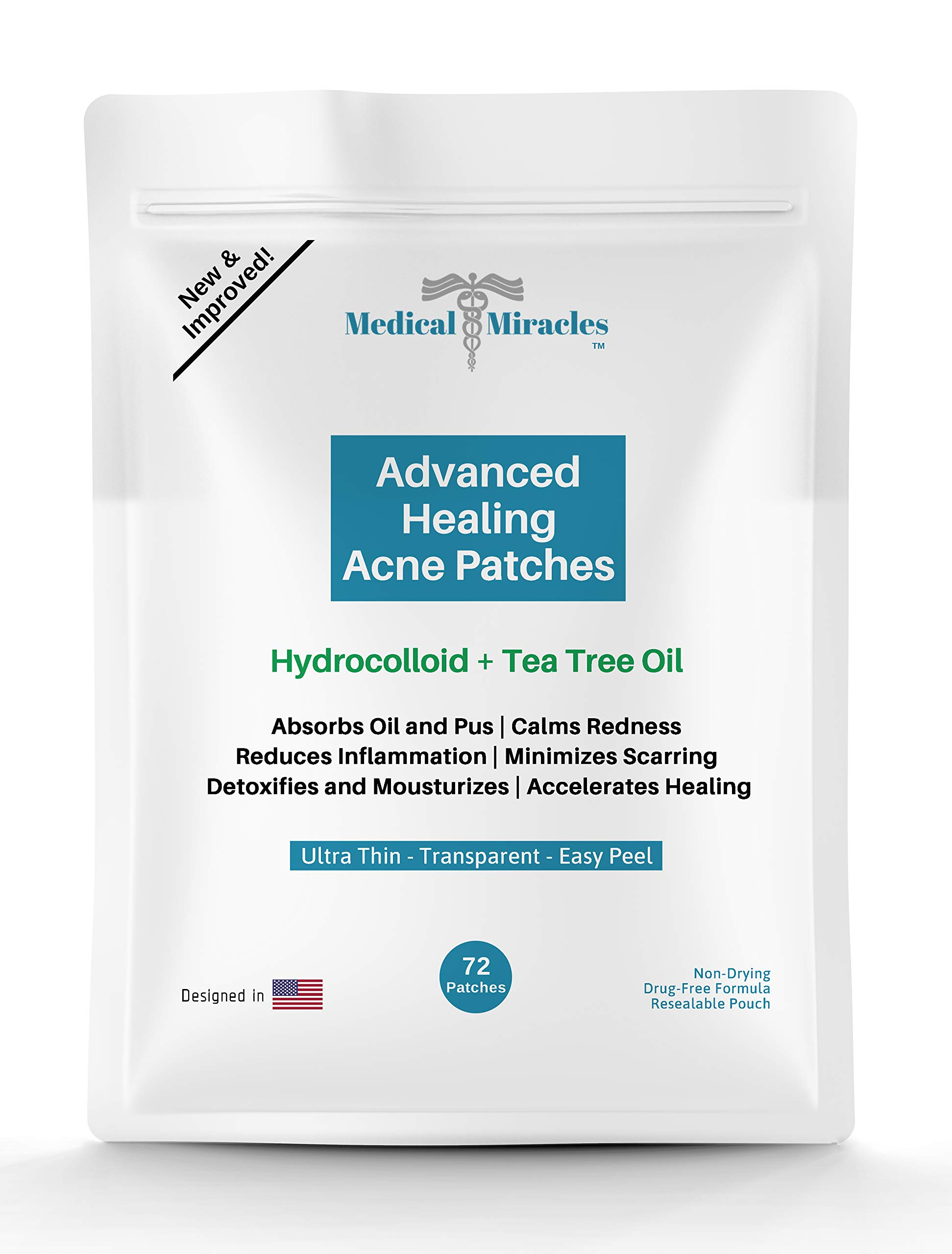 Maximum Strength Hydrocolloid Acne Remover Sticker Dots