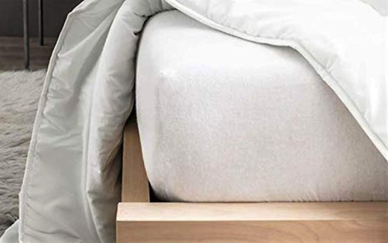 Cflagrant® Colchón/colchón (muletón 100% algodón Forma sábana ...