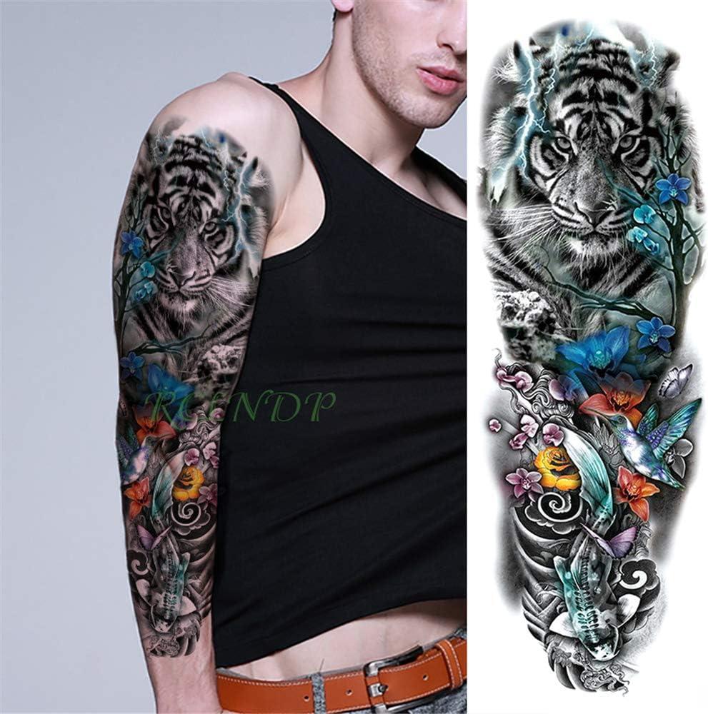 tzxdbh 3pcs-Impermeable Etiqueta Mariposa cráneo Tatuaje Temporal Flor Hermana Brazo Tatto Tatoo Grandes Tatuajes para Las Mujeres de los Hombres 3Pcs-: Amazon.es: Hogar