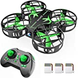 SNAPTAIN H823H Mini Drone for Kids, RC Pocket Quadcopter with Altitude Hold, Headless Mode, 3D Flip, Speed Adjustment and 3 B