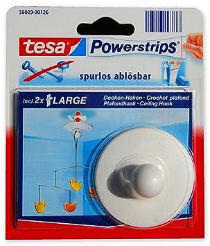 Decken Haken Tesa Powerstrips Spurlos Ablösbar 2x Large 5x2cm
