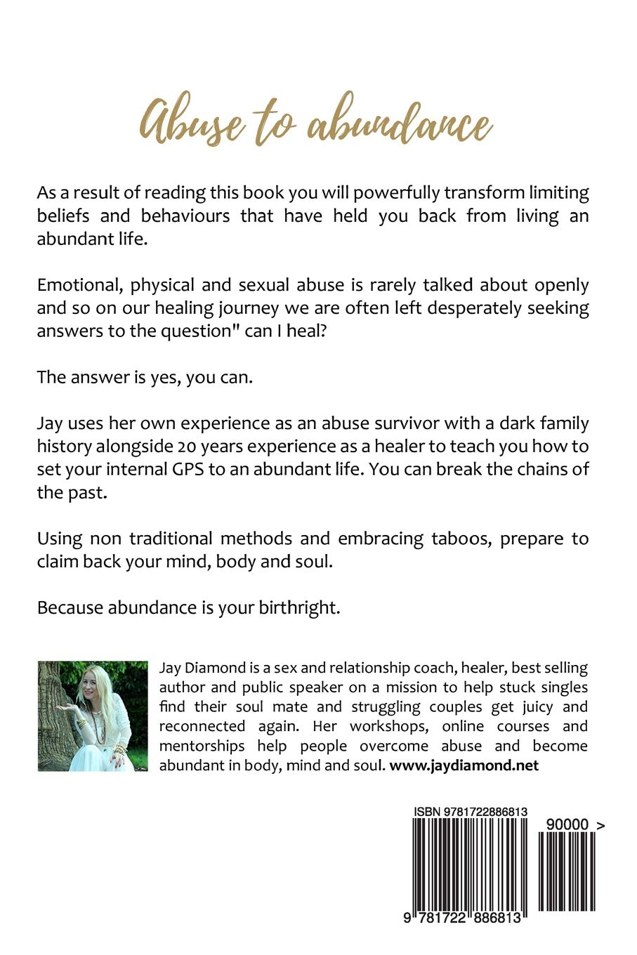 Amazon com: Abuse to Abundance: How to claim back your mind, body
