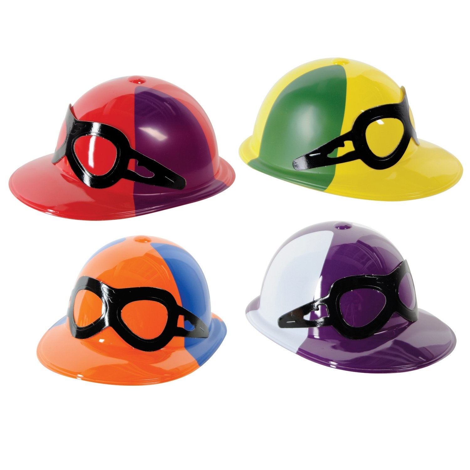 Beistle 66787 48-Pack Plastic Jockey Helmets by Beistle