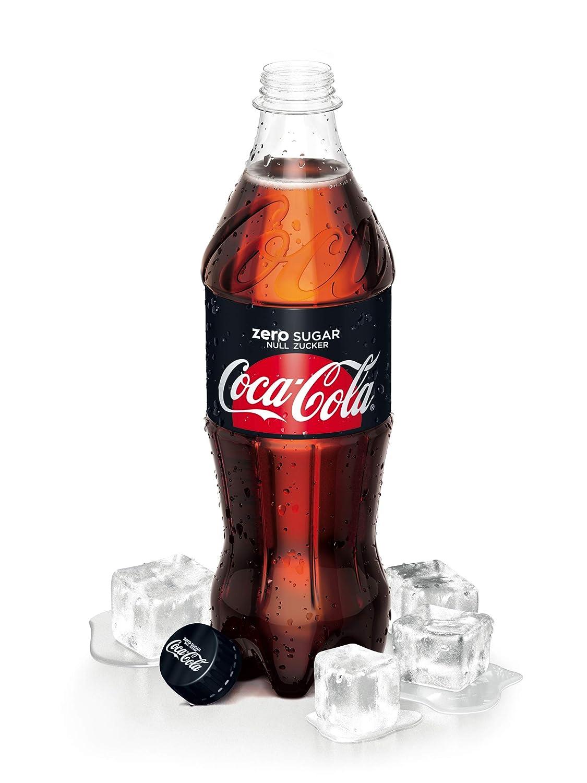 Eine Coca-Cola-Flasche Ein Gentleman zitiert