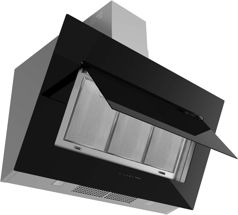 frecan – Campana Pared Quasar 1200 acero inoxidable y Negro: Amazon.es: Grandes electrodomésticos