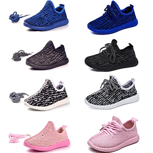 DADAWEN Baby's Boy's Girl's Breathable Strap Light Weight Sneakers Casual Running Shoes Gray US Size 12.5 M Little Kid CJRs0w