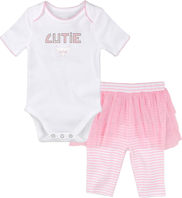 NBA by Outerstuff NBA Newborn NBA Newborn Cutie Dancer Tutu Legging Set