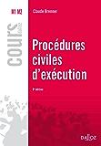 Procédures civiles d'exécution (Cours)