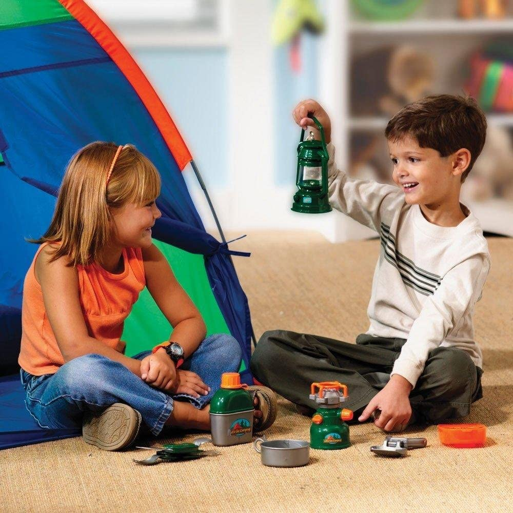 LER2653 Learning Resources version anglaise Kit de Camping Pretend /& Play