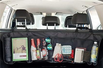 Coche 5 bolsillo Organizador para respaldo de asiento de coche iPad, Tablets, juguetes, botellas de agua y zumo cajas