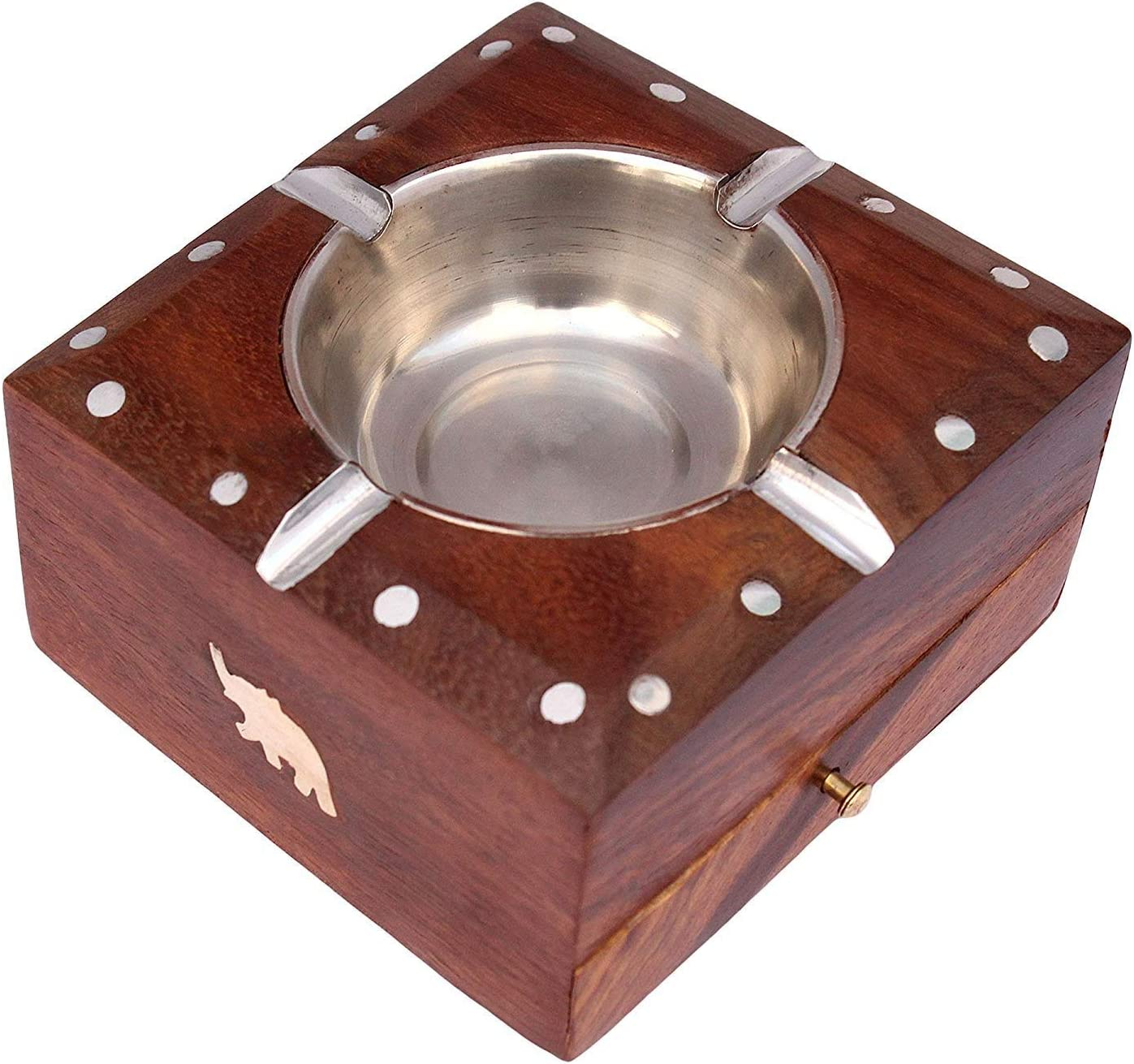 Artisans Of India Ashtray with lid