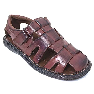 G4U-Veeko FLS Men's Sandals Closed Toe Adjustable Strap Buckle Fisherman Casual Summer Shoes | Sandals