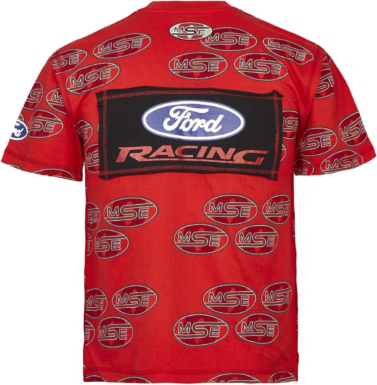 MSE Ford Extreme Rally Rallycross para hombre 3028 corta rojo ...