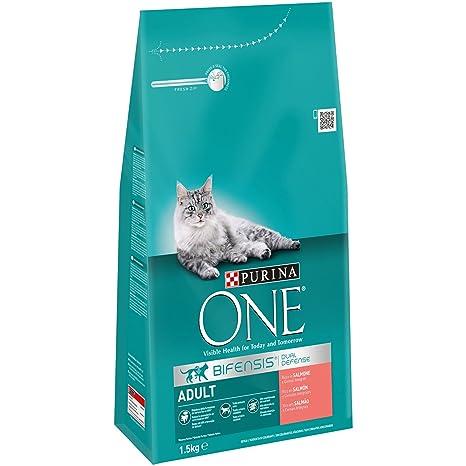 Purina ONE Bifensis Pienso para gato Adulto Salmón y Cereales 1,5 ...