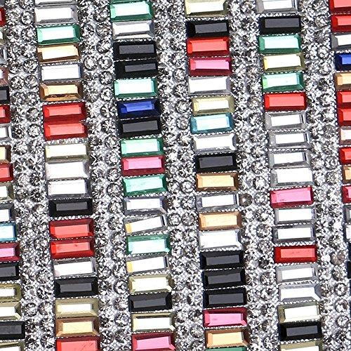 Colour Acrylique Sac Épaule Mariage À Sac Pochette Main multiple Sac Bonbons KYS Lady Bandoulière Couleur Soirée De à Sac Ud1U68qnO