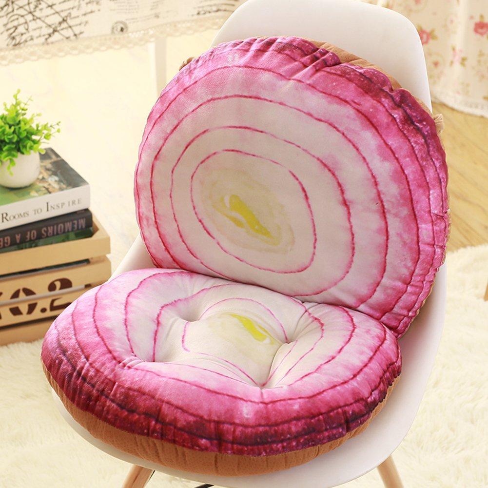 Cojín de silla frutas 3d, Amortiguador uno,Amortiguador de la silla de de la oficina del,Amortiguador de asiento densamente estudiante,Silla de comedor,Almohadilla del asiento taburete-J 40x80cm(16x31inch) 30eaae