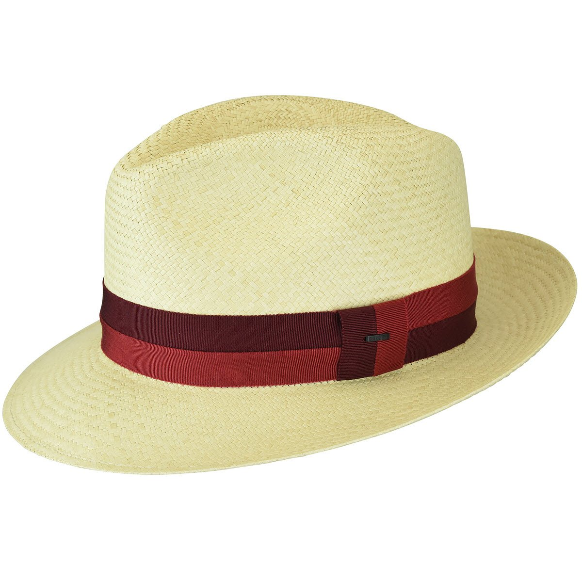 Bailey of Hollywood Men Halpern Panama Fedora Natural-Red S