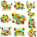 MagiDeal Alphabet Puzzle 3D Bois Enfant Jeux éducatifs Animaux Hibou Jouet Cadeau