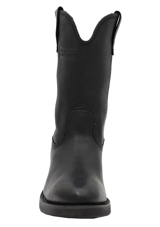 Adtec Men's 12 inch Ranch Wellington Boot B003RQ3EWU 8 M US|Black